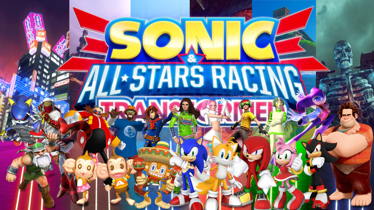 Sonic & All-Stars Racing Transformed personajes