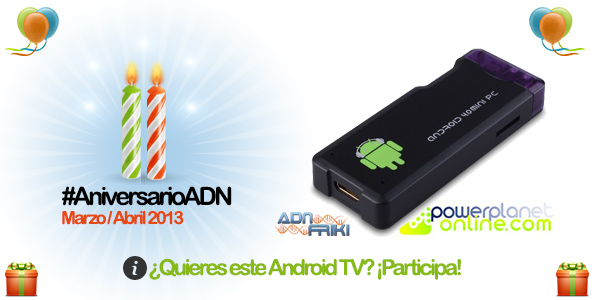 android tv aniversarioadn
