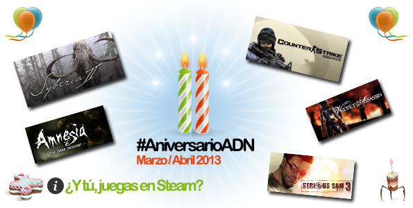 evento aniversarioadn juegos steam