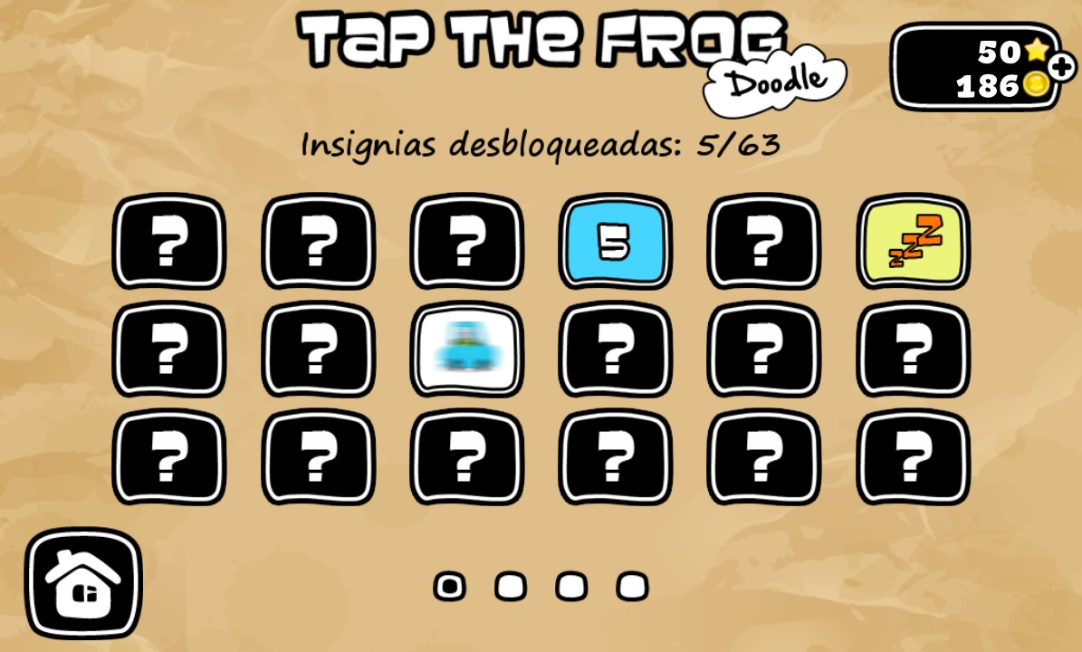 insignias tap the frog doodle
