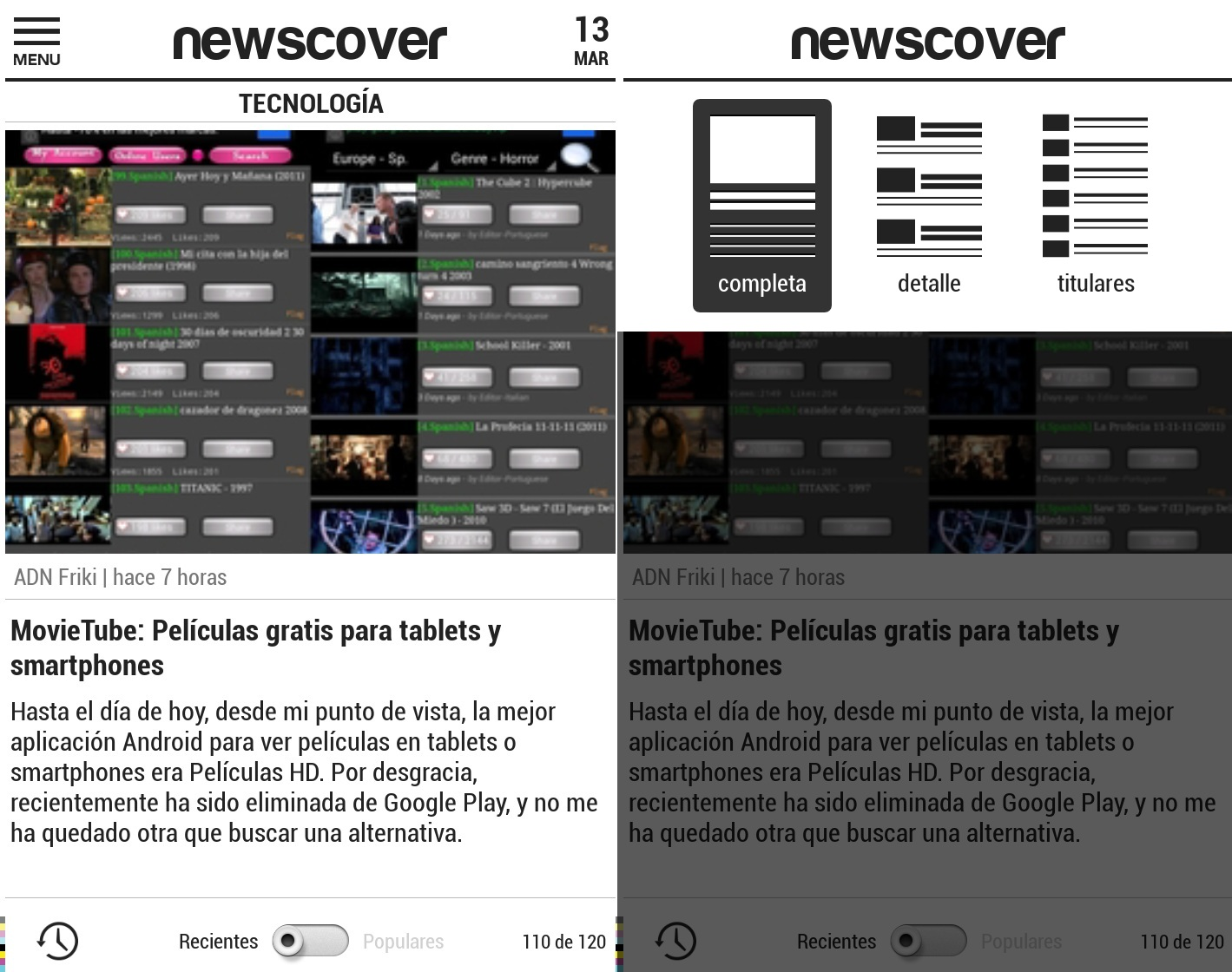 newscover android