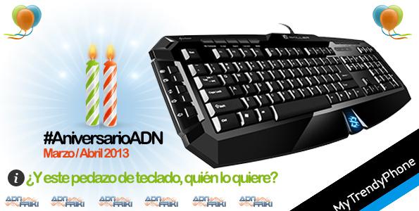 sorteo teclado gamer adnfriki