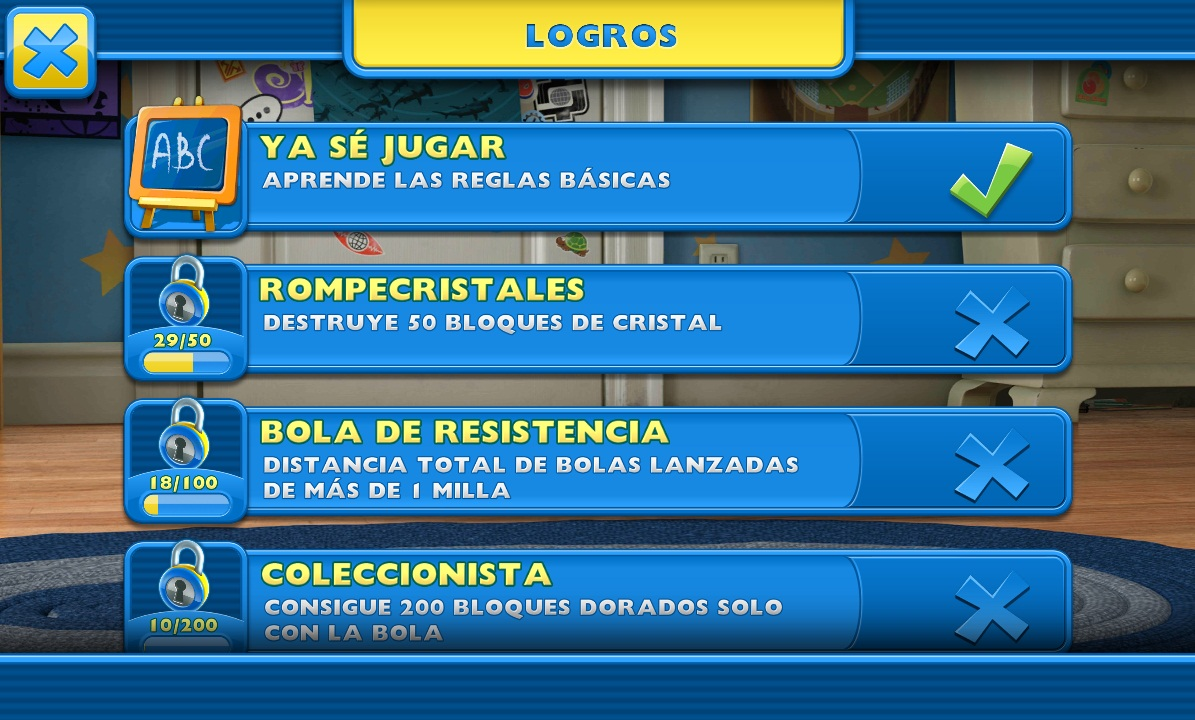 toy story android logros