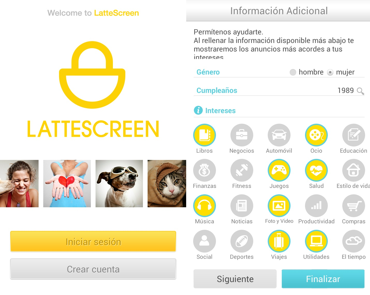LatteScreen Android