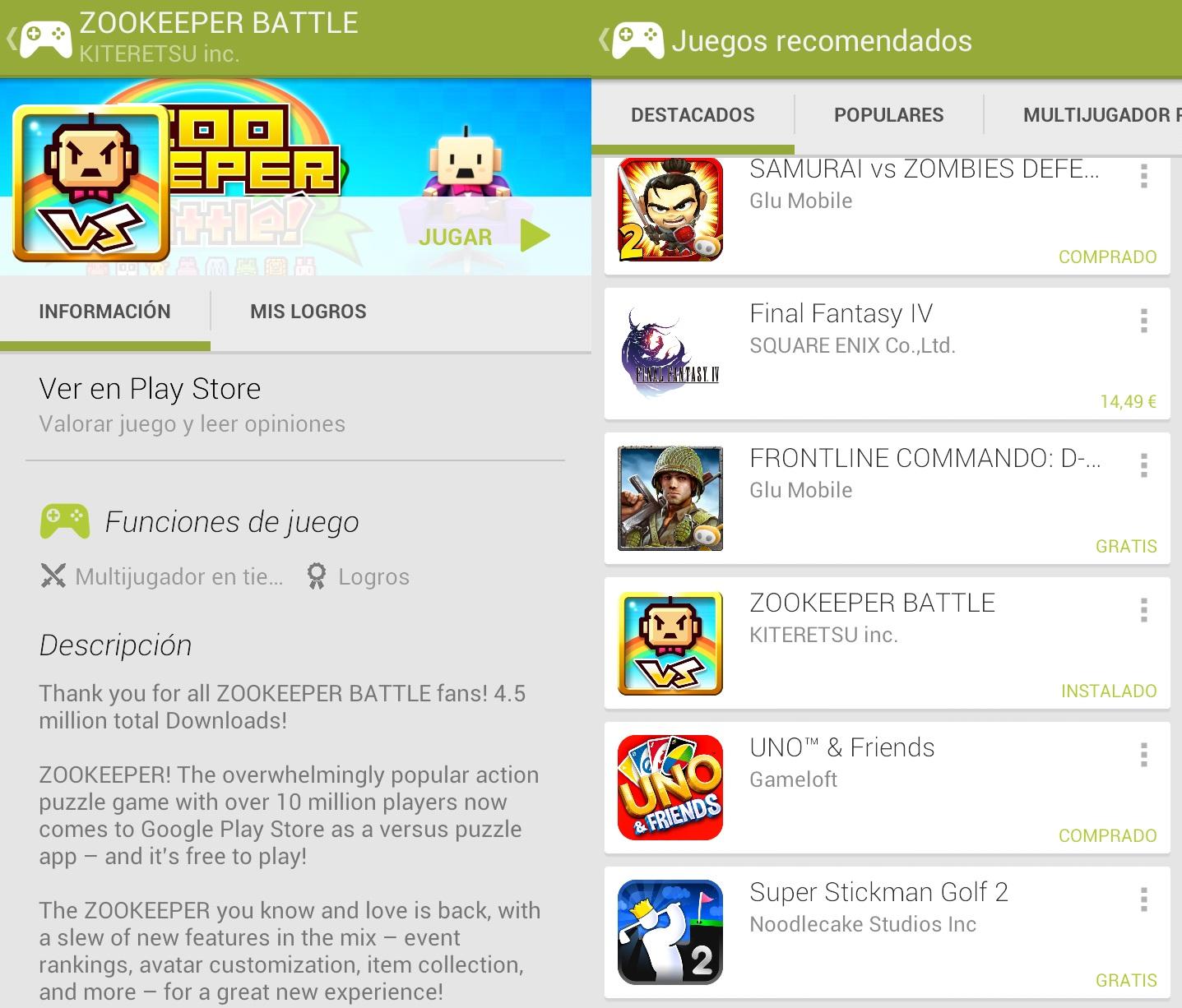 descubrir juegos google play games
