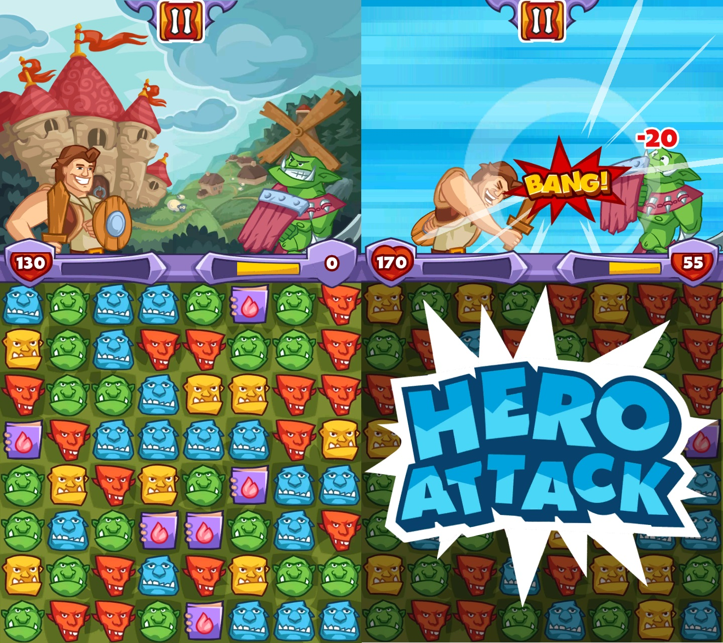 i need a hero juego android