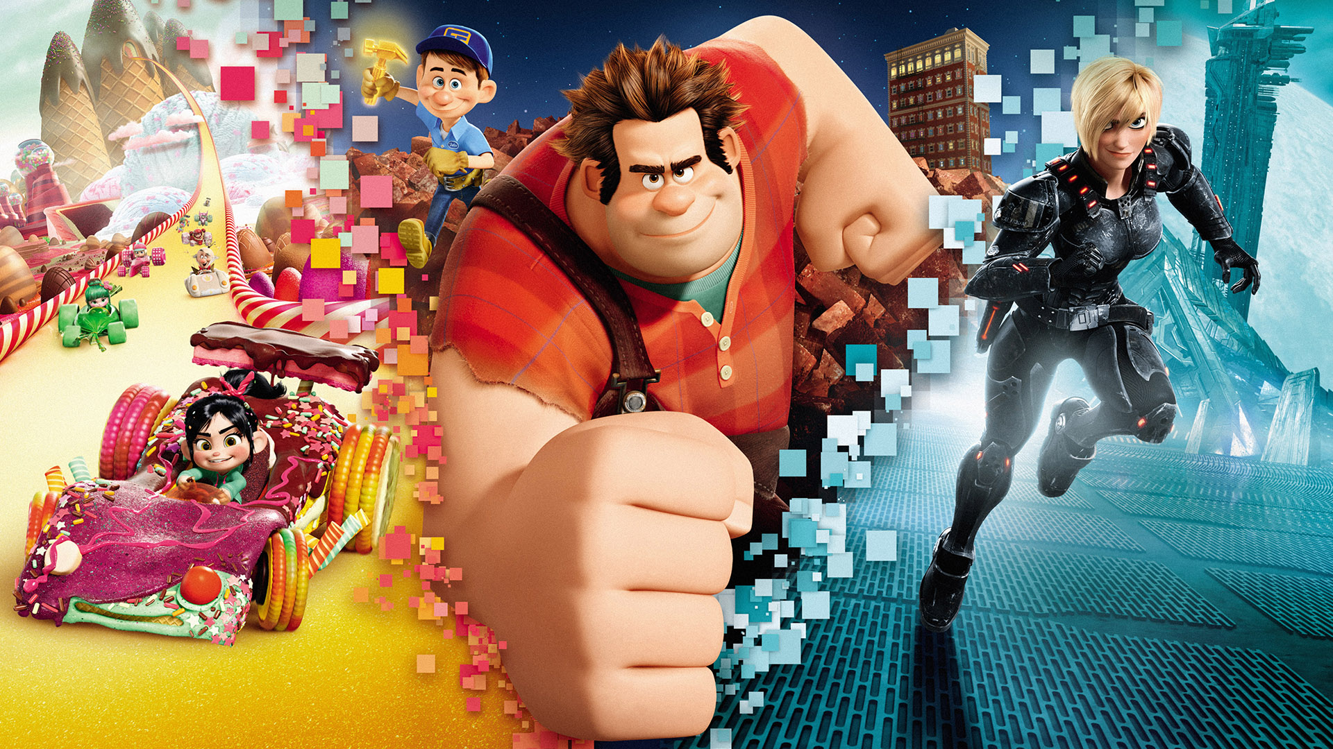 wallpaper rompe ralph hd