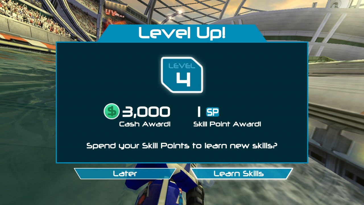 riptide gp2 level up