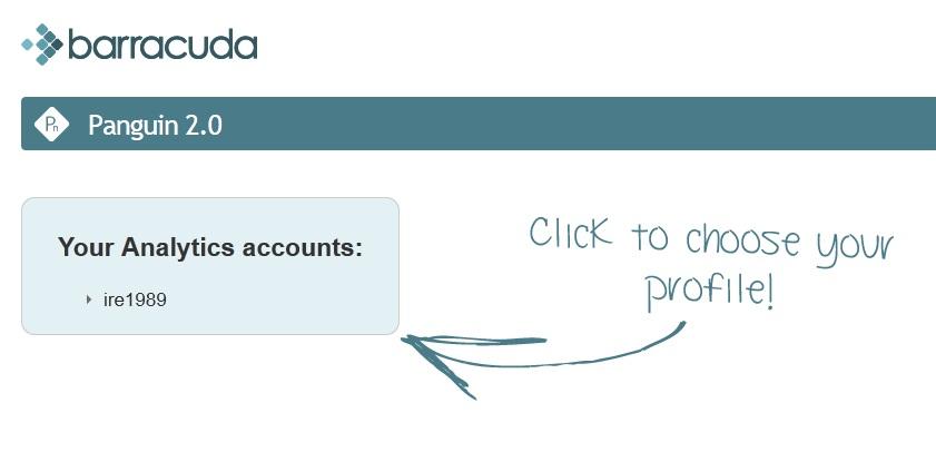 panguin 2.0 seleccionar web