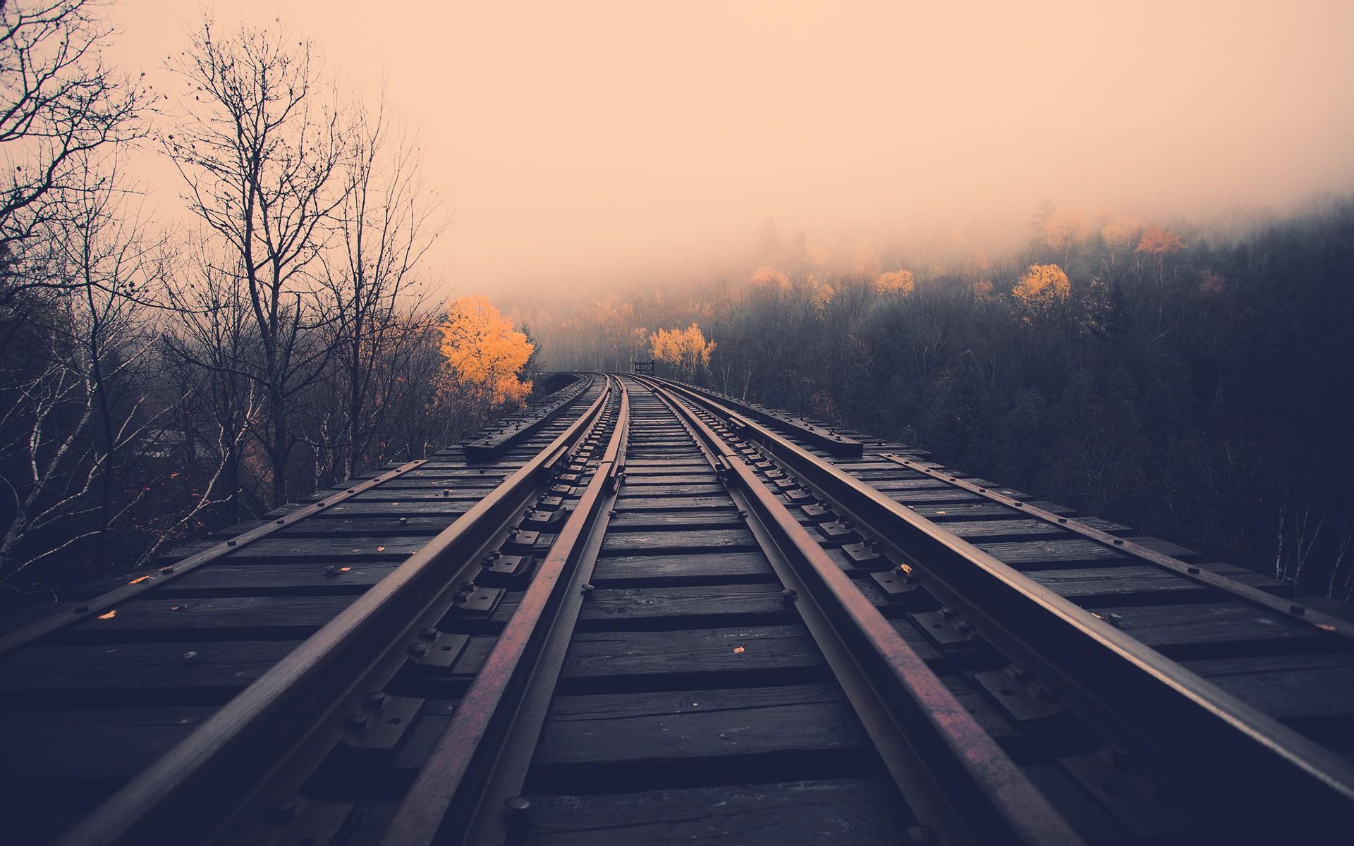 Fondos Vías de ferrocarril (Railroad Tracks) ADNFriki (2)