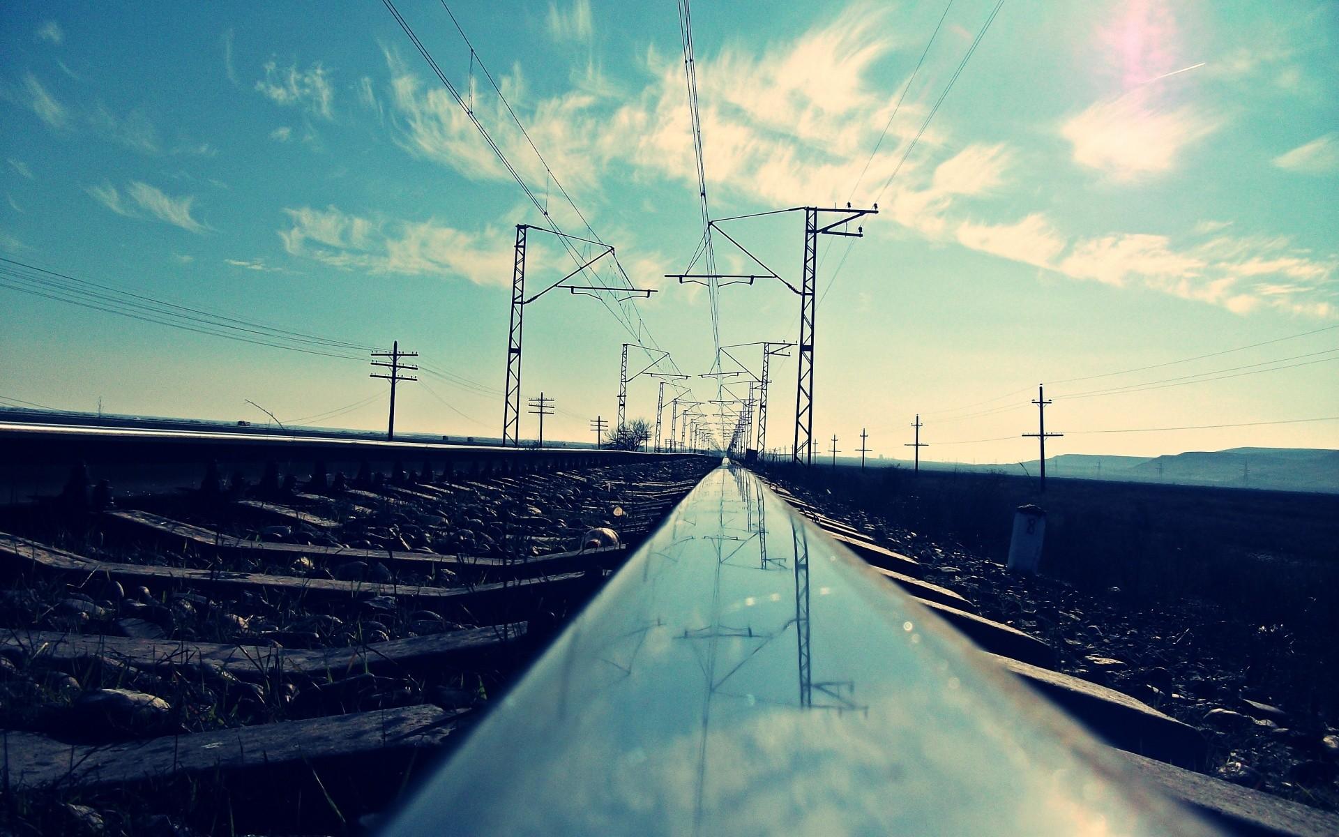 Fondos Vías de ferrocarril (Railroad Tracks) ADNFriki (3)