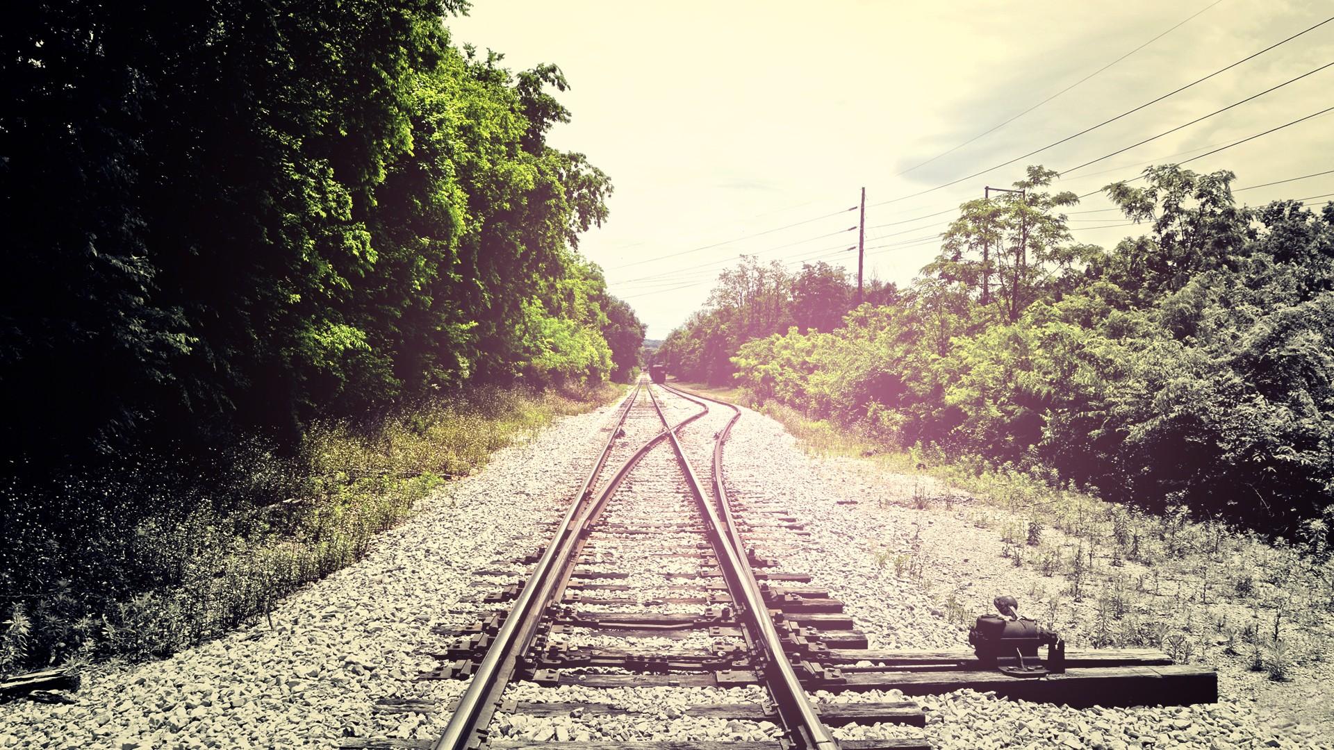 Fondos Vías de ferrocarril (Railroad Tracks) ADNFriki (5)