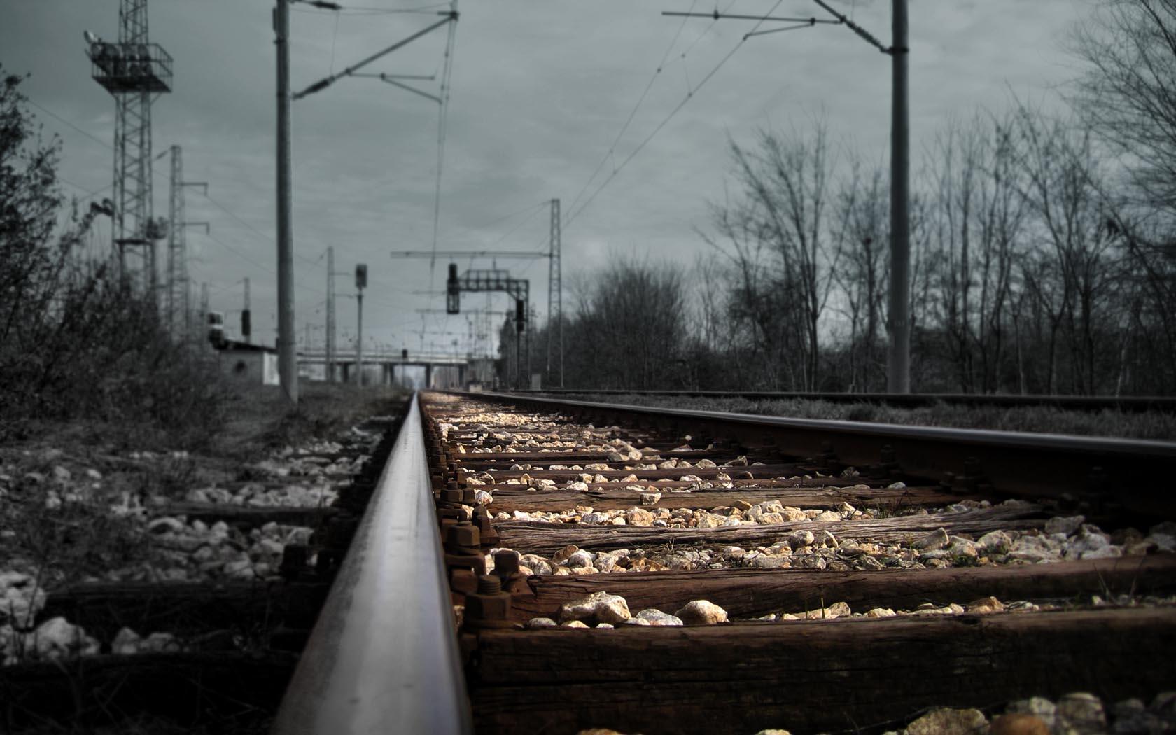Fondos Vías de ferrocarril (Railroad Tracks) ADNFriki (6)