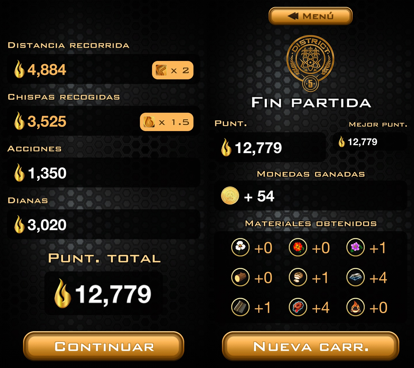 Hunger Games Panem Run Game