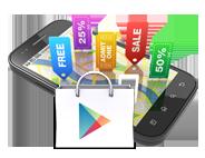 ofertas navidad google play