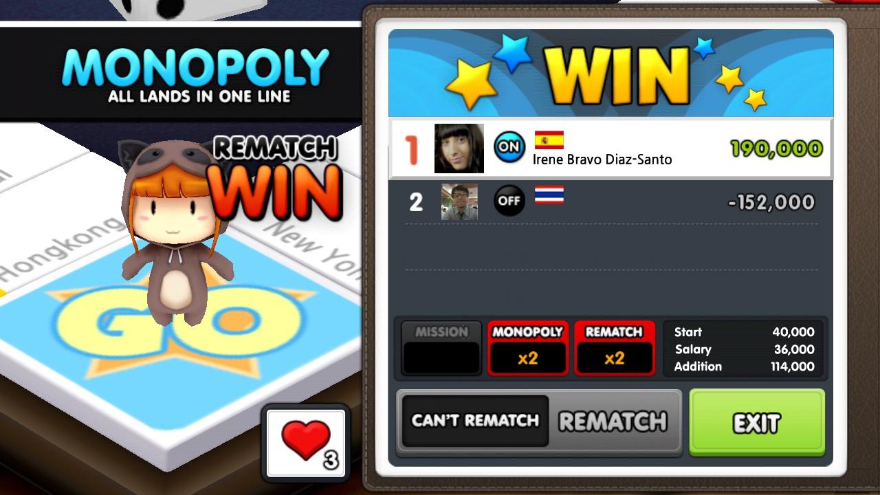 Star City Tycoon partida ganada