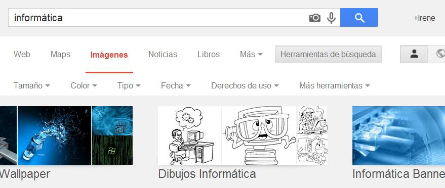derechos de uso google imagenes