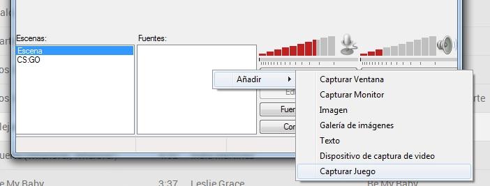 Open Broadcaster Software Capturar Juego