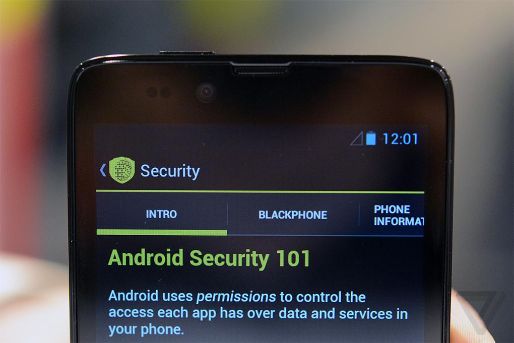 blackphone smartphone