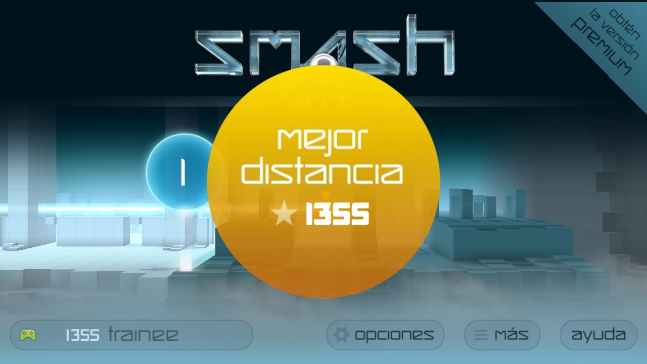 Smash Hit Mejor distancia