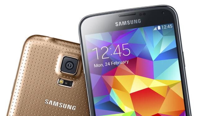 Samsung Galaxy S5 Pantalla