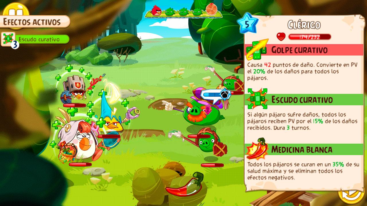 Características-Clérigo-Angry-Birds-Epic