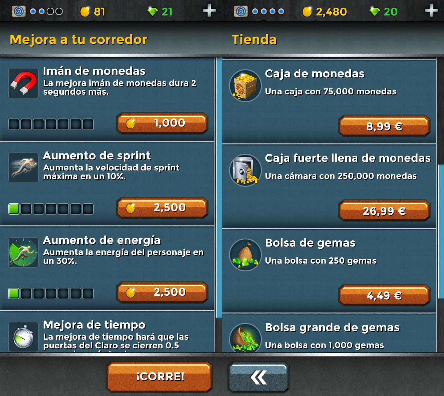 Tienda-Maze-Runner-Android