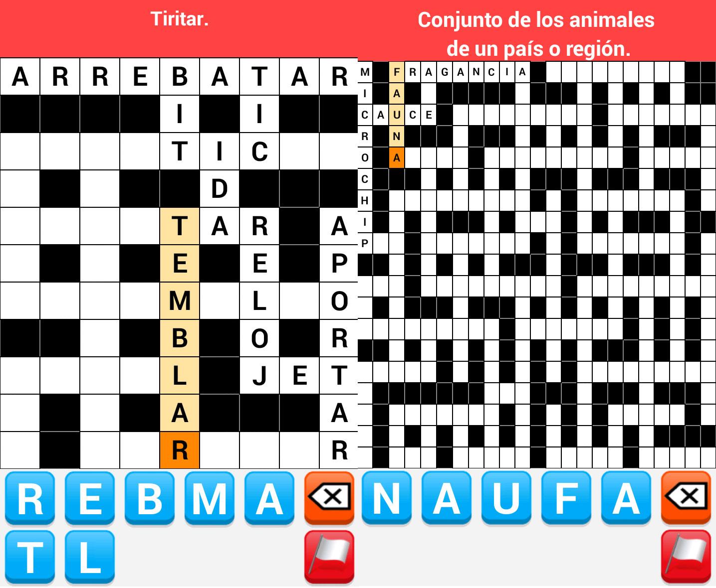 Crucigrama-Español-Android