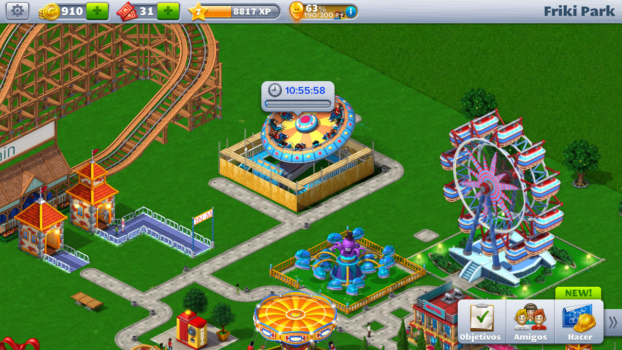 RollerCoaster-Tycoon-4-Android