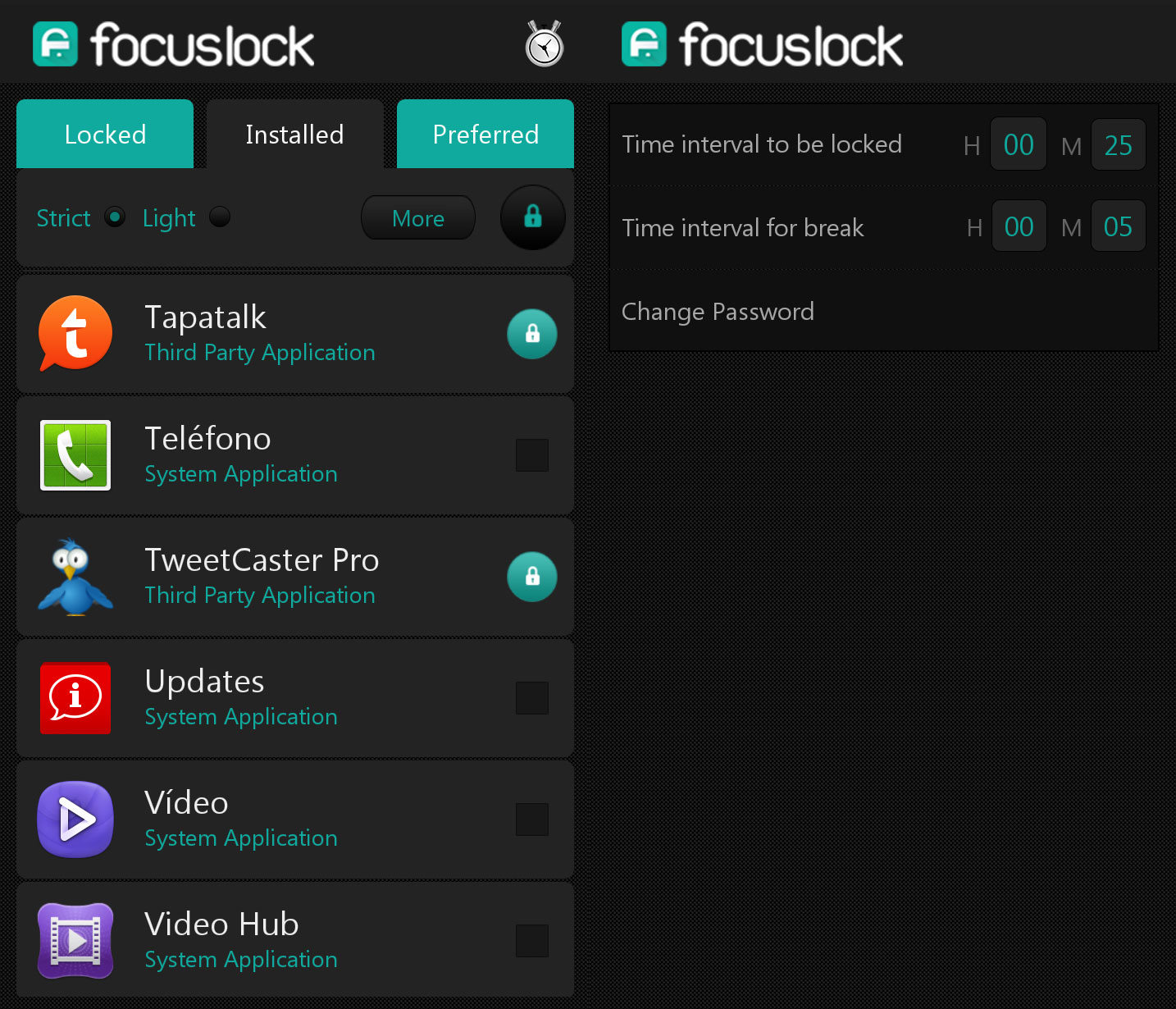 Focus-Lock-Android