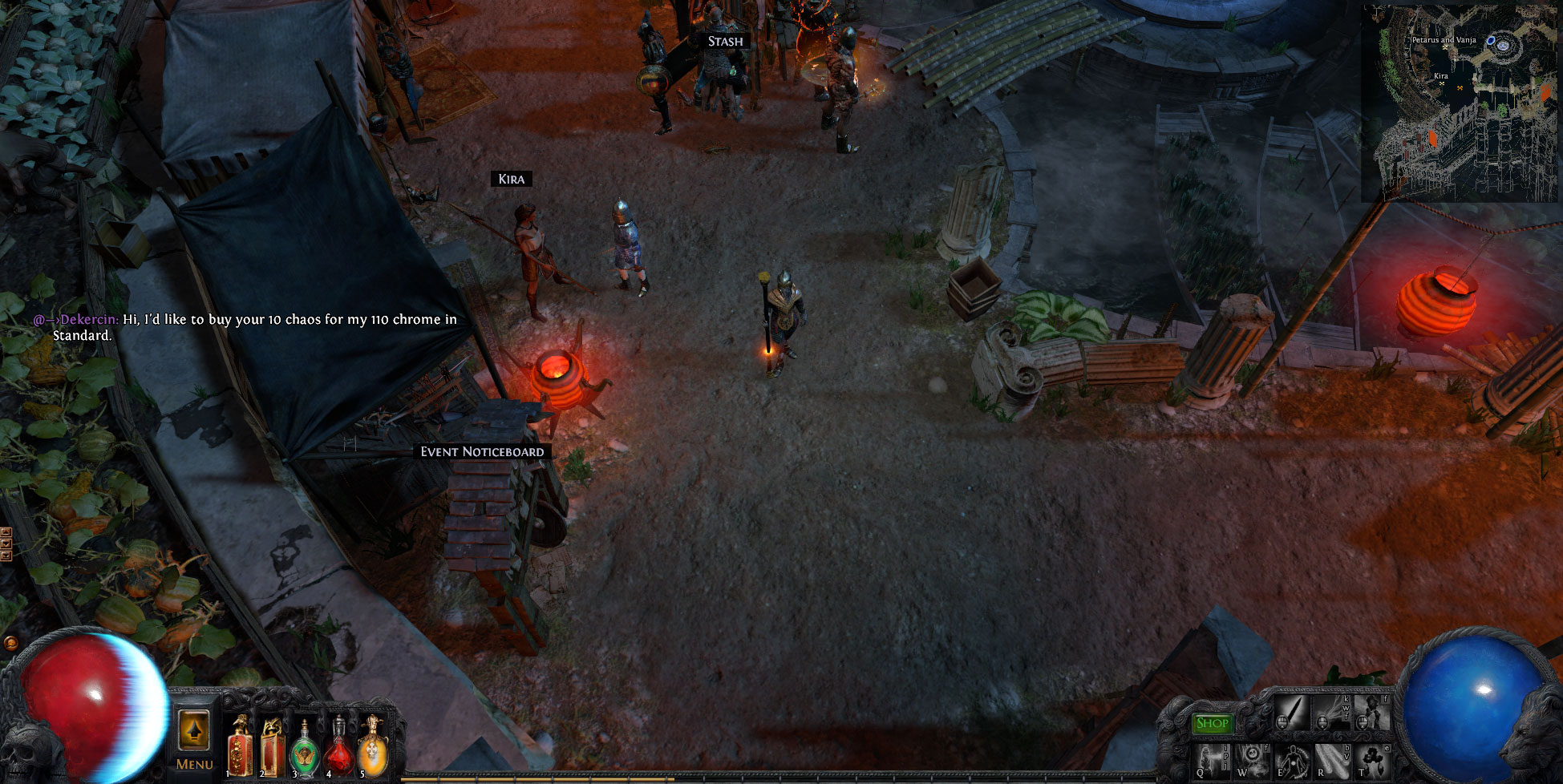 vender-objetos-path-of-exile