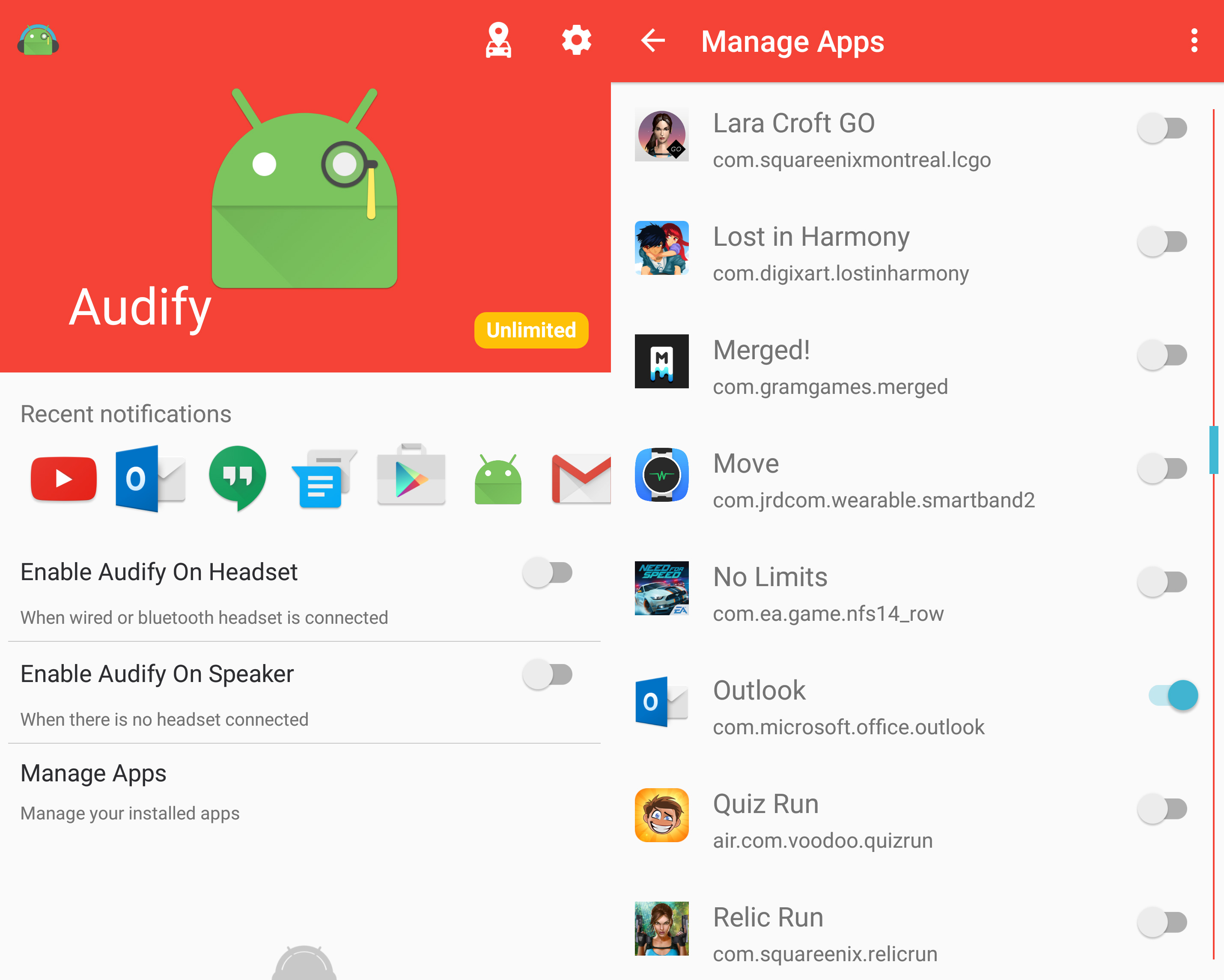 Audify-Android